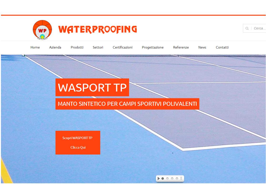 Da oggi, anche Waterproofing è online.
