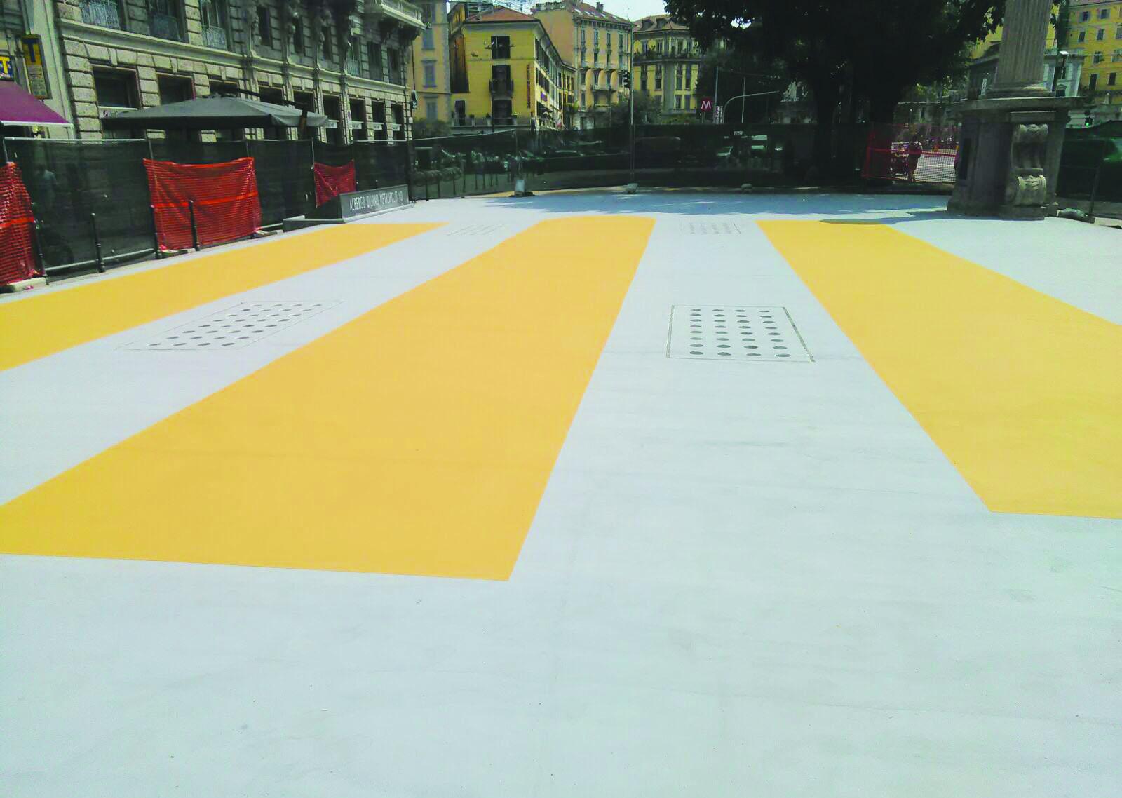 Piazzale OBERDAN Milano